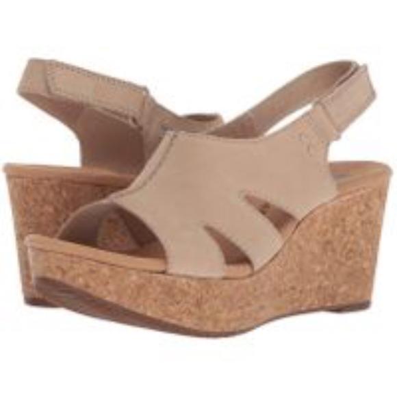 87c08e1bef32 Clarks Shoes - CLARKS Women s Annadel Fareda Wedge Sandal